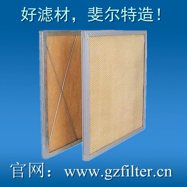Plank temperature resistance filter