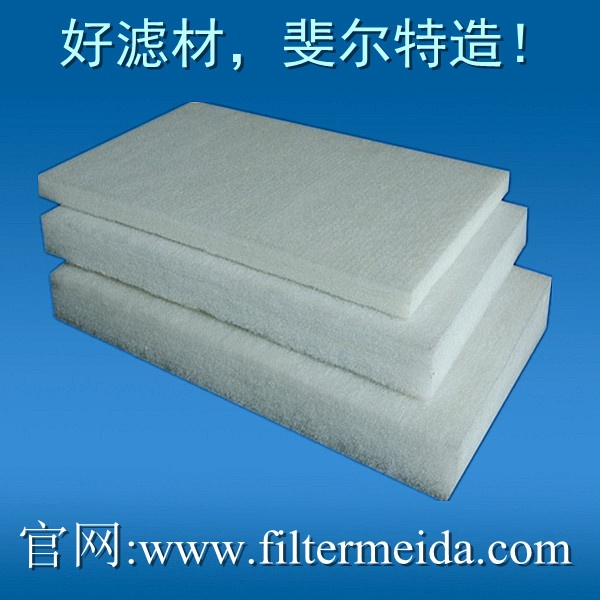 Glue cotton filters