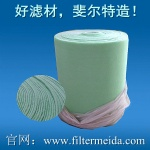 Green and white early efficiency filter cotton