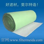 Green aquarium filter roll