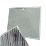 Aluminum honeycomb photocatalyst filter